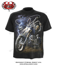 Spiral Direct Ride to Hell Mens Black T-Shirt, CLEARANCE!!!