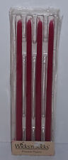 """Wicks n Sticks Princess Tapers New Fit 1/2"""" Holders Pink or White USA Made"""