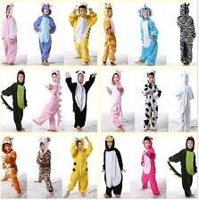 New Children's Kids Animal Unisex Kigurumi Cosplay Costume Onesies Pajamas Dress