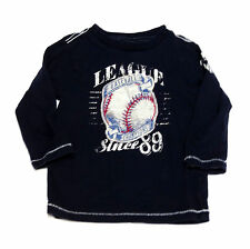 The Children's Place Baby Toddler Boys Long Sleeve Vintage Inspired  T-Shirts