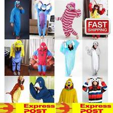 ADULT FLEECE KIGURUMI COSPLAY COSTUME PAJAMAS ONESIES ANIMAL SLEEP WEAR ONESIE
