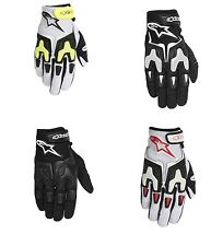 Alpinestars SMX-3 Air Leather & Mesh Motorcycle Street Gloves (All Sizes)
