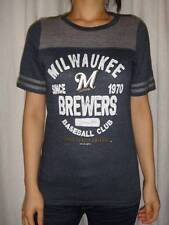 NWT Milwaukee Brewers MLB Womens Tee T-Shirt