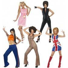 Spice Girls Costumes Adult Womens Group Ideas 90s Halloween Fancy Dress