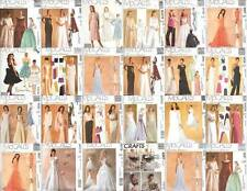 McCalls Sewing Pattern Misses Bridal Evening Gown Bridesmaid Prom Party Dress