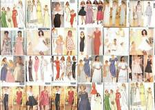 OOP Butterick Sewing Pattern Misses Evening Gown Prom Party Bridesmaid MOH Dress