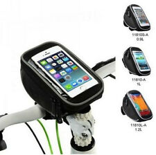New Bike Bicycle PU Handlebar Bag Touch Case For iphone 4/5/5S Samsung S3/4 HTC