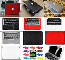"5in1 3D Carbon Fiber Sticker Keyboard Screen Protector For Macbook Air 11"" A1465"