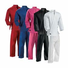 Century Martial Arts Karate  Uniforms NEW Black,white,red,blue All Sizes 0463