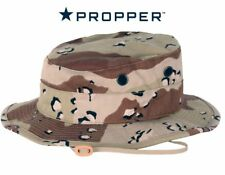 Propper Boonie Hat 6 Color Desert Camo Chocolate Chip 60/40 Ripstop Clearance