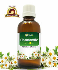 CHAMOMILE OIL 100% NATURAL PURE UNDILUTED UNCUT ESSENTIAL OILS 5ML TO 100ML