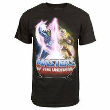 Mens Official He-Man Masters of the Universe T Shirt Black NEW