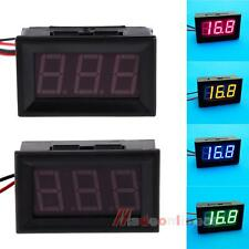 M3AO New Direct Current 2 Wires 0.56 Inches LED Voltmeter Panel Mini Volt Meter