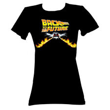 Back To The Future Movie Btf Car Juniors T-Shirt Tee