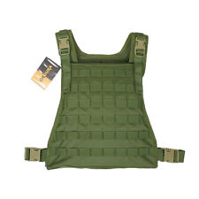 Flyye Army Combat MBSS Tactical Plate Carrier MOLLE Webbing Cordura Olive Drab