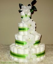 Diaper Cake baby boy baby girl FREE shipping 96 Diapers OVER $100 VALUE