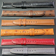 Brand New 100% Authentic MONTBLANC Leather Watch Straps 17mm & 19mm Black Brown