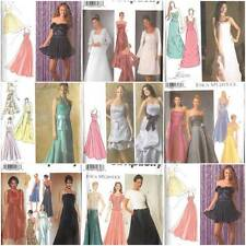 Simplicity Sewing Pattern Misses Formal Evening Gown Prom Party Dress U Pick