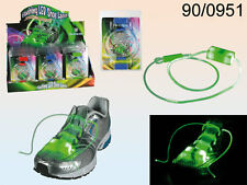 Flashing Shoe Lace with LED - 3 Assorted Colours - Inc Batteries