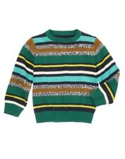GYMBOREE LOCH NESS HEROES MULTI COLOR STRIPE L/S SWEATER 3 4 5 6 7 8 10 12 NWT
