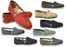TOMS ®  CLASSIC CANVAS WOMEN SLIP-ON SHOES **PICK YOUR COLOR** AUTHENTIC & NEW**