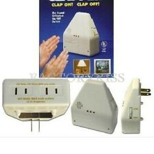 The CLAPPER Sound Activated On/Off By Hand Clap Electronic Lights Gadget MPO
