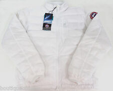 Canada Goose Men's Lodge Jacket White 5056M New & Authentic