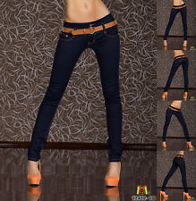 3005 New Sexy Blue Jeans Women Stright Leg Mid Waisted Trousers Online