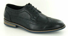 Men's Black Colour Lace Up Brogue Shoes. Formal/Casual. A2126