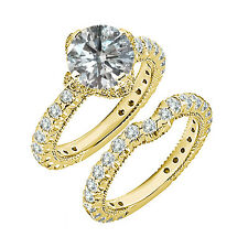 2 Carat G-H SI3-I1 Diamond Wedding Promise Solitaire Ring 14K Yellow Gold