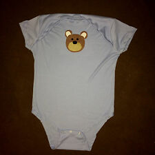 Custom Handmade Bear Adult Baby Romper Costume One-piece Snap Bodysuit ABDL