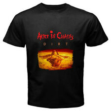 New ALICE IN CHAINS *DIRT Logo Rock Band Men's Black T-Shirt Size S to 3XL