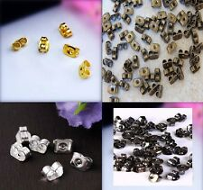 30 Beautiful GOLD/SILVER PLATED Butterfly Earring Back Stopper EarNut US SELLER!