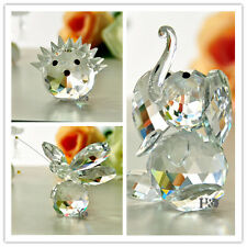 Dynamically Fashion Crystal Happiness Animals Shape Glass Paperweight Gril Gifts