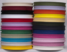 16mm COTTON BIAS BINDING TAPE (Approx 33 Meter Roll )