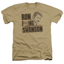 Parks And Recreation NBC TV Series Ron F***Ing Swanson Adult T-Shirt Tee