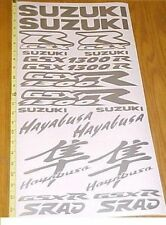 Sticker Decal Graphic kit for GSXR1300 Hayabusa gsxr Plastics Tank Fender Emblem
