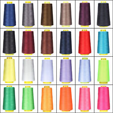 50Colors ,3000 Yards Quality Overlocking Sewing Machine Polyester Thread Cones