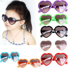 New Fashion Children Boy's Gril's Heart Shape Goggles Sunglasses Shades 7 Color