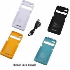 External backup battery charger case cover for all iphone 4 4th gen 4g 4s new