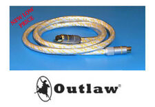NEW  Outlaw Audio PSSV S-Video Cable  -  Choose Meter Length .05m 1.8m  3.5m
