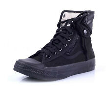 New men's high top casual trail hiking canvas military ankle boots sneakers shoe