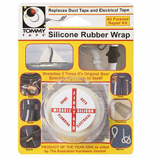 Tommy Tape Silicone Rubber Wrap Tape Auto Electrical Plumbing Home Repair