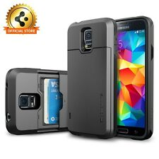Spigen® for Samsung Galaxy S5 Wallet Case / Protective Case Slim Armor CS SERIES