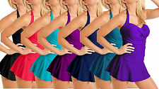 It's Not a Miracle...It's a Carol Wior Bandeau Swimdress Solid Colors 61500/W