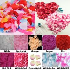 100 PCS Multi Colors Silk Rose Petals Wedding Party Decoration Flower Vase Event