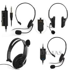 Auricular Auriculares Headset Wired con Cable Micrófono Gaming para PS4 PC