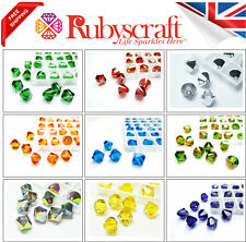 6pcs Swarovski Crystal Beads 5328 Xilion Bicone 8mm - Choose the colour