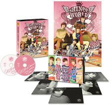 SHINee The 2nd CONCERT SHINEE WORLD 2 in SEOUL DVD : 2DVD+Photocard+Poster,New