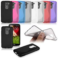 Soft TPU Silicone Rubber Back Case Cover Skin For LG G2 Mini D618 D620 S Line